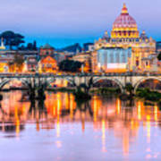 Rome - St Peter  Poster