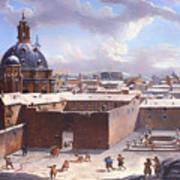 Rome Under The Snow Poster
