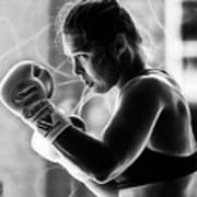 Ronda Rousey Fighter Poster
