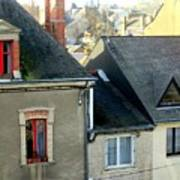 Rooftops, Chateaubriant Poster