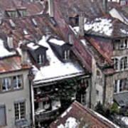 Rooftops Of Berne II Poster