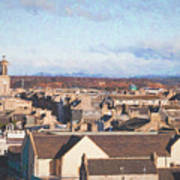 Rooftops Of Elgin Poster