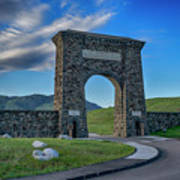 Roosevelt Arch At Yellowstone Dsc2522_05252018 Poster