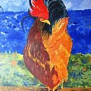 Rooster With Attitude Poster