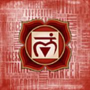 Root Chakra - Awareness Poster
