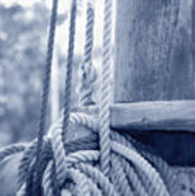 Rope And Mast Poster