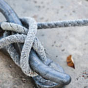 Rope On Cleat Poster