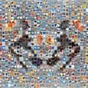 Rorschach Inkblot Card Three Poster