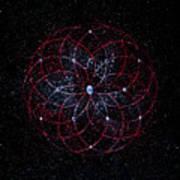 Rosace - Rose Nebula Poster