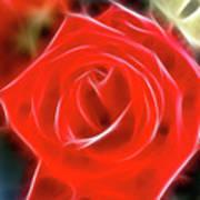 Rose-5827-fractal Poster