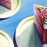 Rose Cake Poster