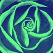 Rose Mint Poster