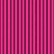 Rose Red Striped Pattern Design Poster