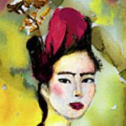 Rose Wearing Her Petals Poster