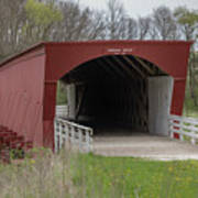 Roseman Covered Bridge - Madison County - Iowa Poster