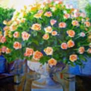 Roses At Table Bay Poster