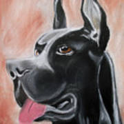 Rosie The Great Dane Poster