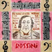 Rossini Portrait Poster