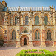 Rosslyn Chapel Panorama Poster