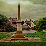Rottingdean War Memorial And Village Common Poster
