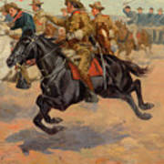 Rough Riders Cavalry Poster
