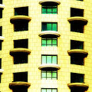 Round Balconies Poster