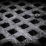 Round Peg Square Hole Poster