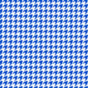 Rounded Houndstooth White Background 18-p0123 Poster