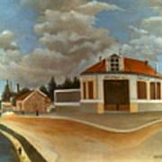 Rousseau: Factory, C1897 Poster