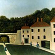 Rousseau:promenaders,c1907 Poster