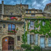 Row Houses Arles France_dsc5719_16_dsc5719_16 Poster