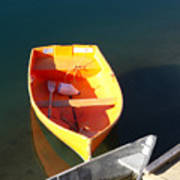 Rowboats In Rockport, Ma Poster