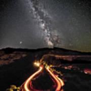 Rowena Milky Way Poster