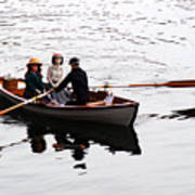 Rowing Boat Poster