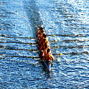Rowing In Poster