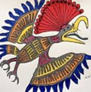 Royal Flycatcher- Mayan 2 Poster