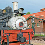 Royal Gorge Train And Depot Poster