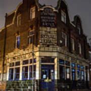 Royal Oak Pub Columbia Road London Poster