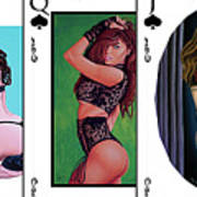 Royal Straight Flush Spades 1 Poster