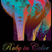Ruby In Color Poster