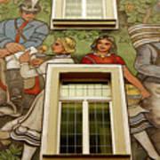 Rudesheim Mural Poster