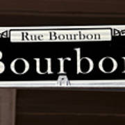 Rue Bourbon Street - New Orleans Poster