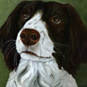 Rueger - Dog Portrait Oil Painting Poster