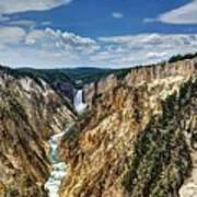 Rugged Lower Yellowstone Poster