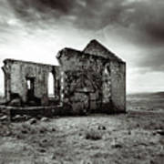 Ruin  Of A Church On The Island Of Skye, Scotland Poster