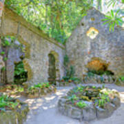 Ruins Of Chapel Sintra Poster