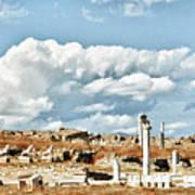 Ruins Of Delos Poster