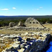 Ruins Of Gran Quivira  Poster