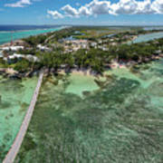 Rum Point Beach Panoramic Poster