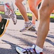 Run Poster by Susie DeZarn